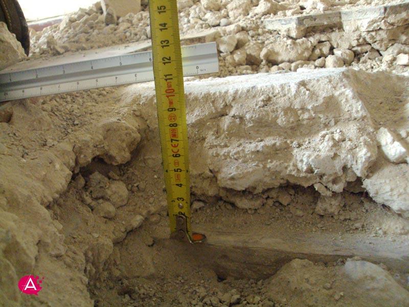 Reforma de piso en Valencia | Capa de compresión existente