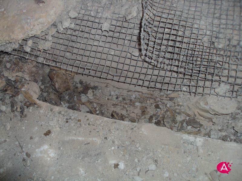 Reforma de piso en Valencia | Estado vigueta de madera