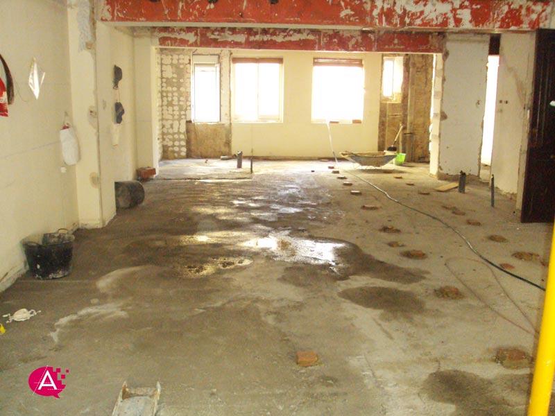 Reforma de piso en Valencia | Refuerzo de forjado de madera terminado