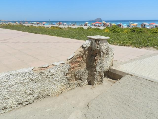 Arquitecto Técnico Paterna. Erosión