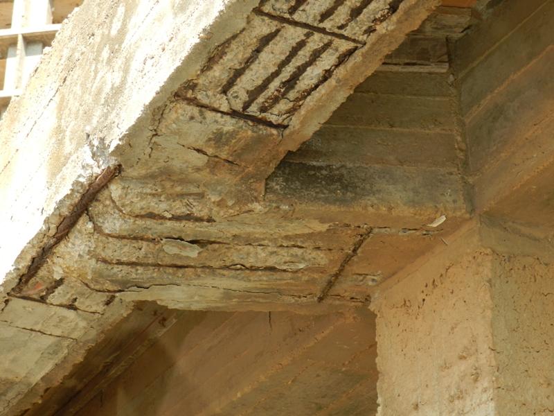 Arquitecto Técnico Valencia, Aparejador Valencia, Fisuras por Oxidación
