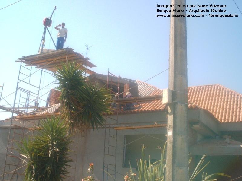 Arquitecto Técnico Valencia, Andamios