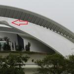 Desprendimientos en Palau de les Arts