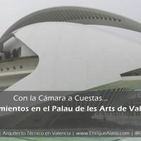 Causas del desprendimiento en Palau de les Arts