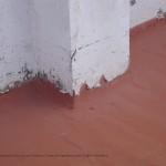 Reparación de cubiertas. Encuentros en mal estado
