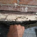 Reparación de cubiertas. Encuentro con antepecho