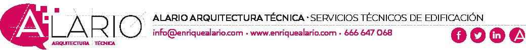 Alario Arquitectura técnica en Valencia. Arquitecto Técnico en Valencia