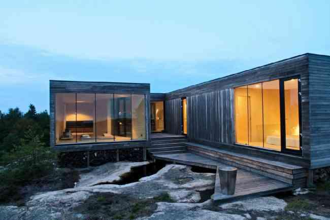 Vivienda construida con ISO container