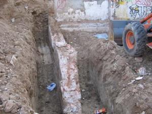 Actuaciones previas en obras de construcción