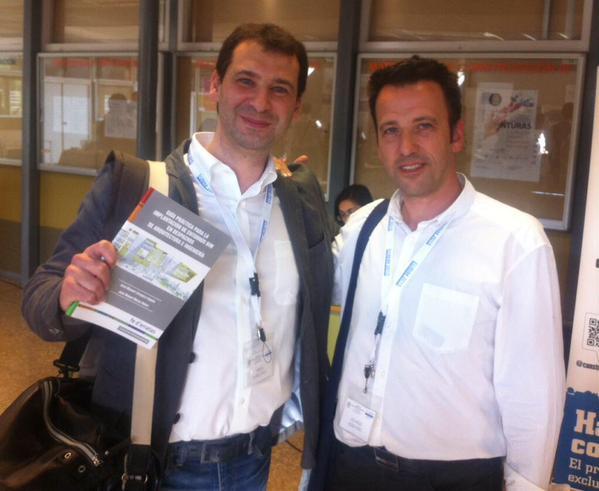 Con Miguel Morea en EUBIM2015.  BIM para pequeños estudios técnicos