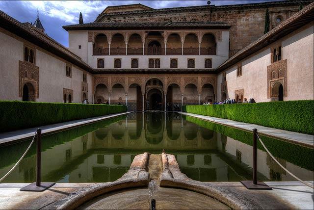 Visita a la Alhambra de Granada.  Contart 2016