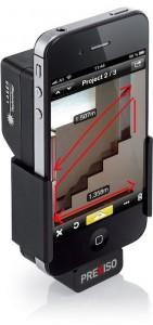 Distanciómetro láser para iPhone