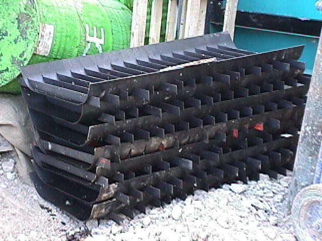 Moldes para hacer separadores in situ