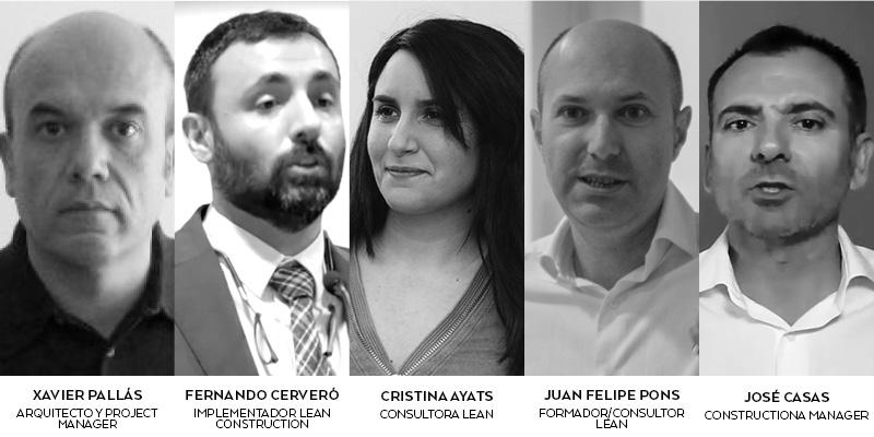 Participantes debate Last Planner System Onsite Podcast de Construcción