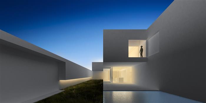 Vivienda unifamiliar entre medianeras en Alginet, vista de fachada