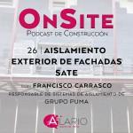 aislamiento exterior de fachadas SATE, con Francisco Carrasco