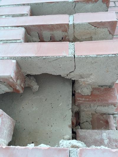 Consecuencias de la crisis inmobiliaria. Edificios mal ejecutados
