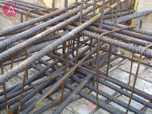 Construcción de Vivienda Unifamiliar Aislada. Armado de cimentación