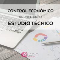 Control económico de un estudio técnico