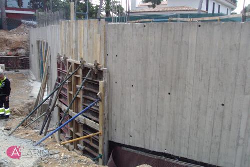 Estructura de hormig n en vivienda unifamiliar seguimiento de ejecuci n - Muros de hormigon ...