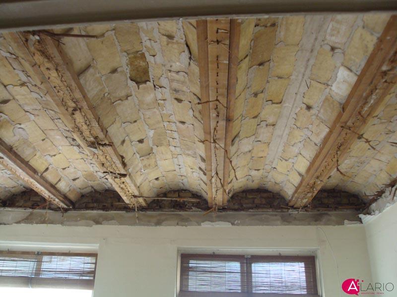 5 pasos importantes para refuerzo de forjados de madera for Tejado de madera o hormigon