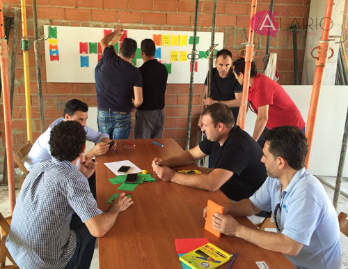 Last planner en obra real, planificación colaborativa Pull Session