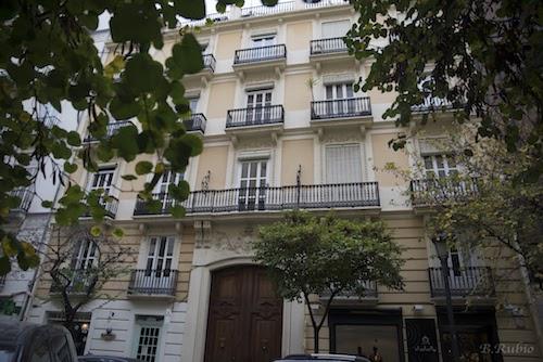 Reforma integral de vivienda en el centro de Valencia | vista fachada