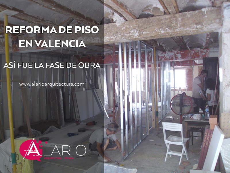 Reforma de piso en valencia la fase de obra - Reformas generales en valencia ...