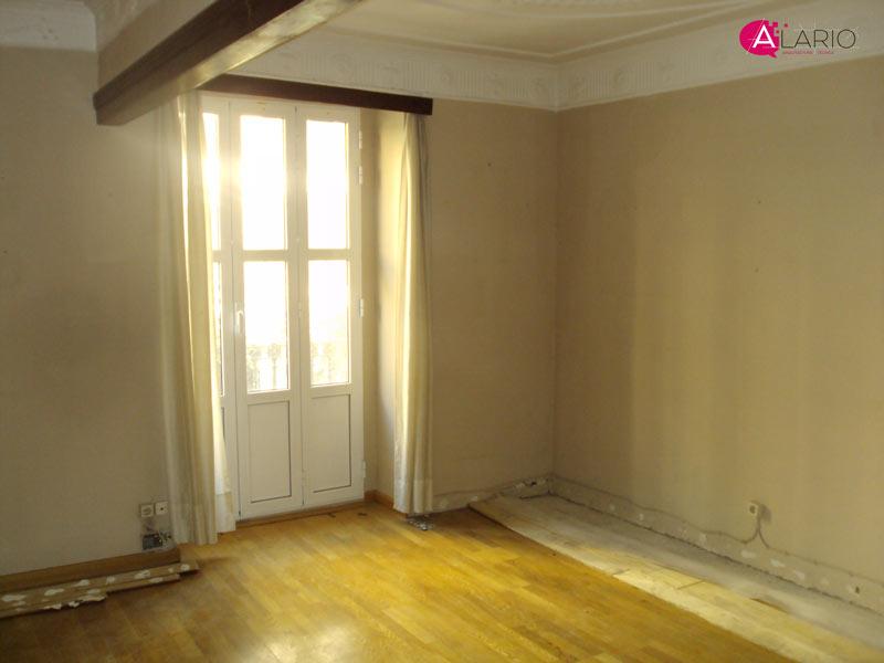 Reforma de vivienda de lujo en Valencia   El salón original