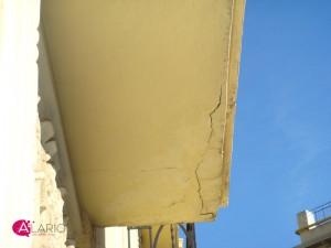 Reparación de cantos de forjado. Localización del problema