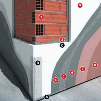 Diferentes tipos de aislamiento t rmico exterior sate for Aislamiento tejados tipos