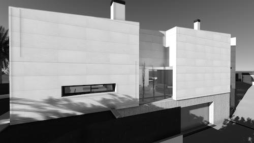 Vivienda unifamiliar aislada en Rocafort | Vista fachada trasera