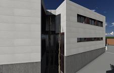 Vivienda unifamiliar aislada en Rocafort | Vista zona rampa